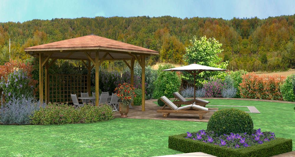 D co jardin terrasse zen rennes 38 jardin potager for Jardin japonais tunis